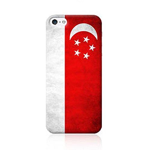 iPhone 7 Plus / アイフォン 7 プラス 対応 ケース VintageFlag Hard ビンテージ 万国旗 ハード ケース スマホ カバー SGP / シンガポール