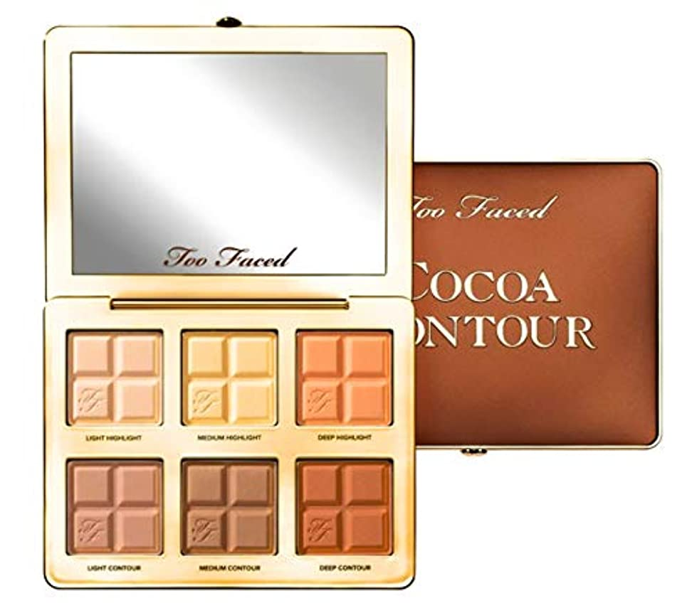 Too Faced(トゥー フェイス) COCOA CONTOUR PALETTE ココアコンターパレット