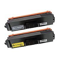 BROTHER TN396-BK + TN396-Y 大容量ブラック+イエロー2本セット 〈ブラザー〉良質互換トナーカートリッジ 残量表示機能/1年間保証付き〈Chip製〉