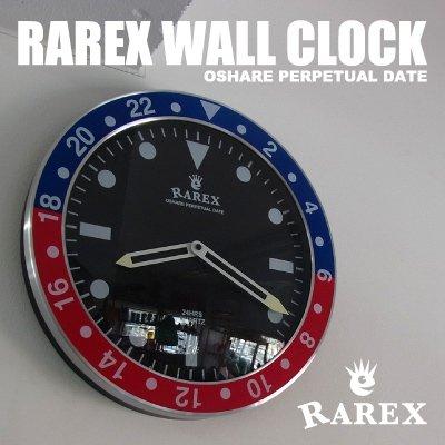 ラリックスウォールクロック【RAREX WALL CLOCK】(