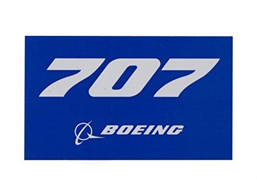 (ボーイング) BOEING 707 ブルー ステッカー