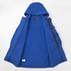 Raf Simons x Fred Perry Duffle Coat SJ3218: Mid Blue