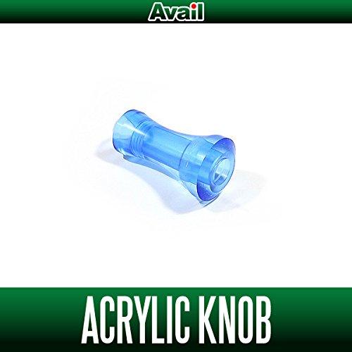 【Avail/アベイル】 アクリル ハンドルノブ ライトブルー