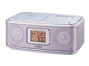 ソニー SONY CDラジオカセットレコーダー CFD-E501 : FM/AM対応 ピンク CFD-E501 P