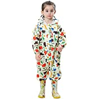 TOPTIE Unisex Baby Muddy Buddy One Piece Rain Coverall, Outdoors Rain Suit