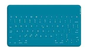 ロジクール ウルトラポータブル キーボード for iPad, iPhone ティール iK1041TLA