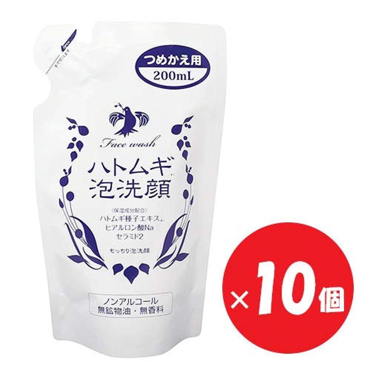 ハトムギ泡洗顔 つめかえ用 200mL×10個セット