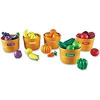 ままごと 野菜 果物 カラーソーティングセット Farmer's Market Color Sorting Set LER3060