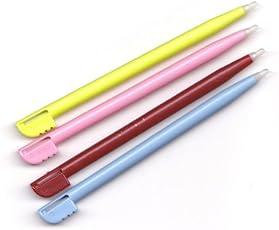 ★「部品保証(14日間)付」 DSLite対応パーツ DS Lite・NDS対応パーツ ◆タッチペン ◆4本セット