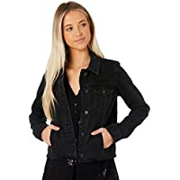 The Hidden Way Women's Mystery Denim Jacket Cotton Black