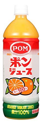 えひめ飲料 POM ポンジュース 1L PET×6本