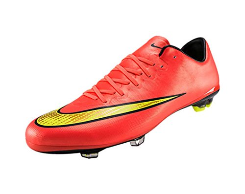 Nike JR Mercurial Vapor X FG(Volt/Metallic Gold Coin/Black Hyper Punch)/サッカースパイク マーキュリアル ヴェイパー X FG (6Y- 24.0cm)