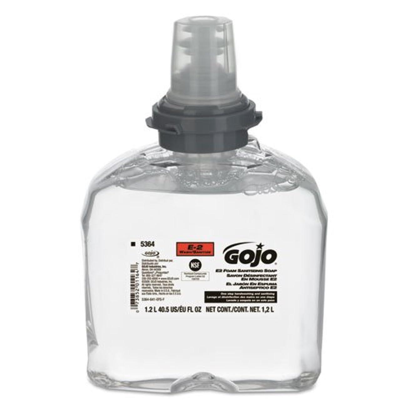 ラベリード有益goj536402 – e2フォームSanitizing Soap、1200 mlリフィル
