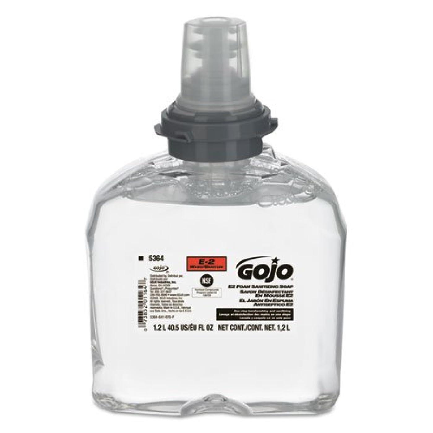 一掃するフィードオン失礼なgoj536402 – e2フォームSanitizing Soap、1200 mlリフィル