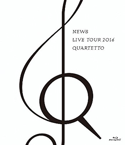 NEWS LIVE TOUR 2016 QUARTETTO(通常盤) [Blu-ray]の詳細を見る