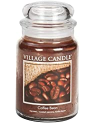 Village Candle Scented Large Jar 26oz - COFFEE BEAN by Village Candle