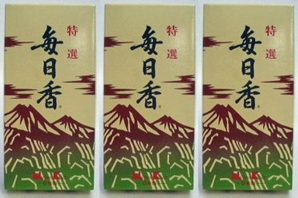 後ろに削る難破船日本香堂 特選毎日香 バラ詰 (3)