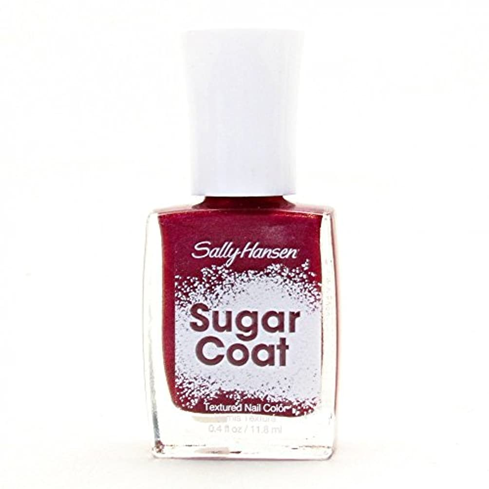 知覚できるから聞くテレックスSALLY HANSEN SUGAR COAT TEXTURED NAIL COLOR #240 RED VELVET