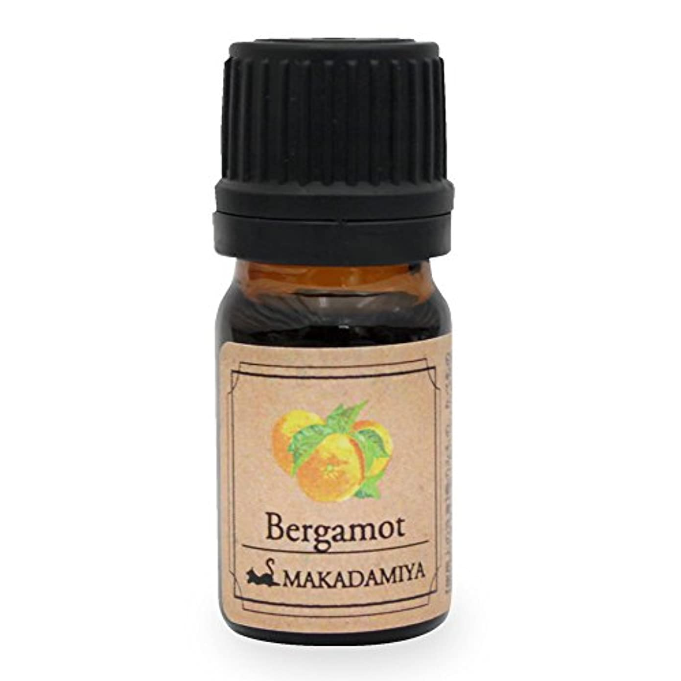 半導体単に考えるベルガモット5ml 天然100%植物性 エッセンシャルオイル(精油) アロマオイル アロママッサージ aroma Bergamot