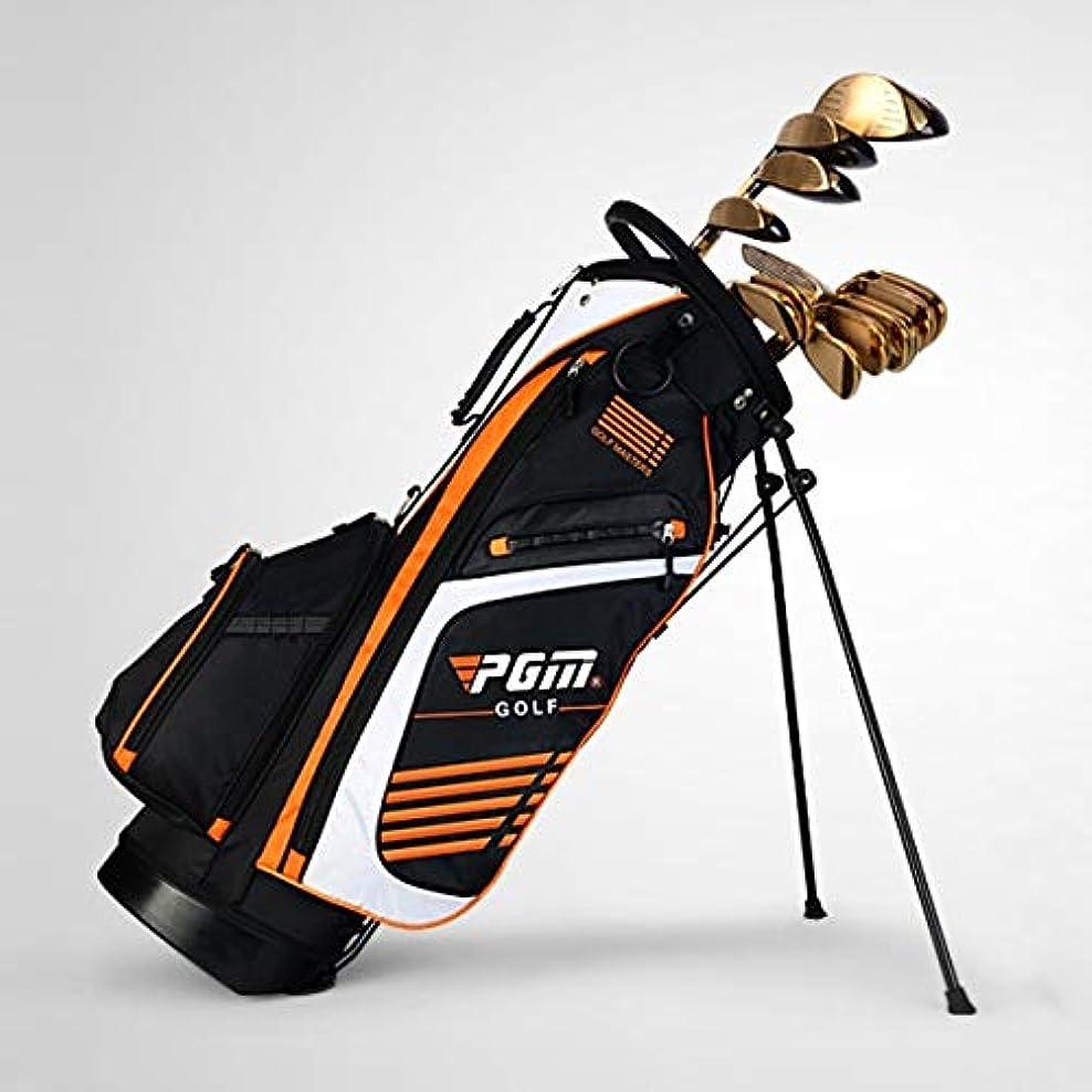 息苦しい研究所最愛のゴルフ用品 PGMポータブルナイロンゴルフスタンドバッグ