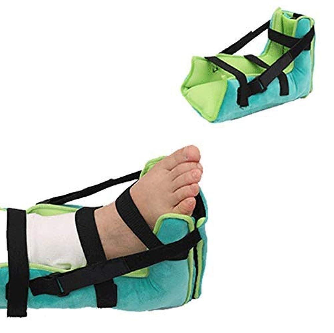 焦がす端アシストかかとプロテクター枕、足補正カバー、抗、瘡ヒールパッド、効果的なPressure瘡とHe潰瘍の救済 高弾性シルクコットン充填 (Size : 1PCS)