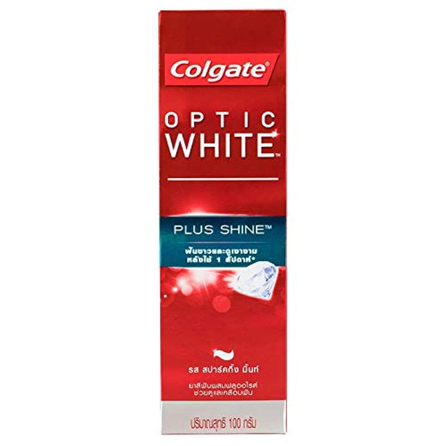 重量硬い年次(コルゲート)Colgate 歯磨き粉 「オプティック ホワイト 」 (プラス シャイン)