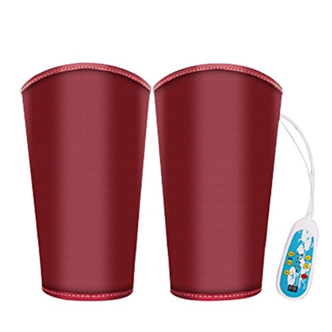 広いシェアしたい電気マッサージ、膝の保温、男女通用、マッサージ機、膝と足を加熱してマッサージします