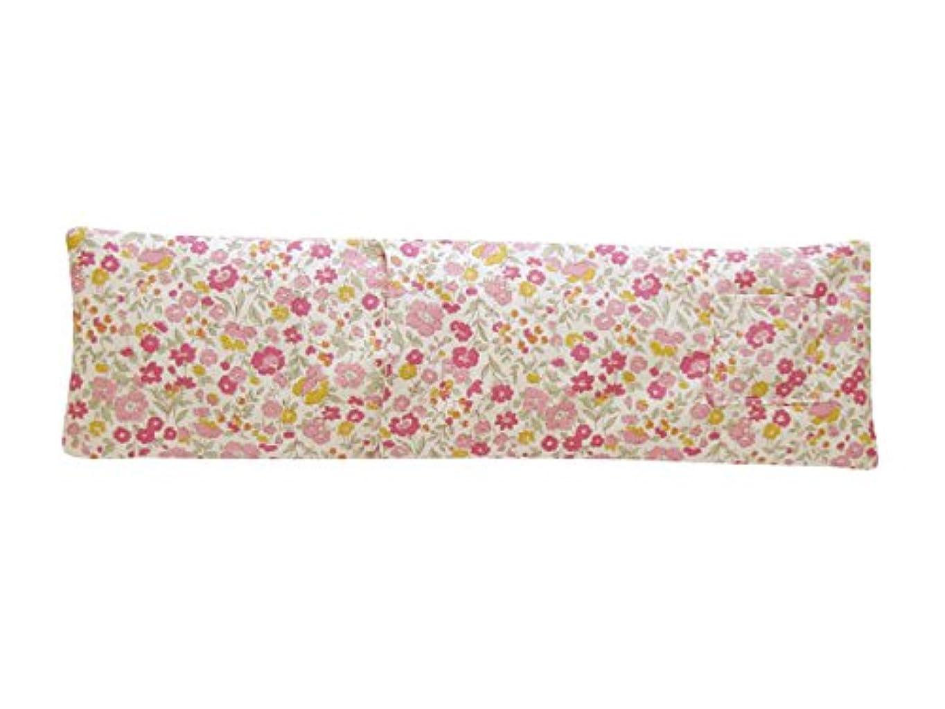 着替える確認階段ホット&アイスショルダーピロー ローズの香り(中花柄) JA-04ROCHU