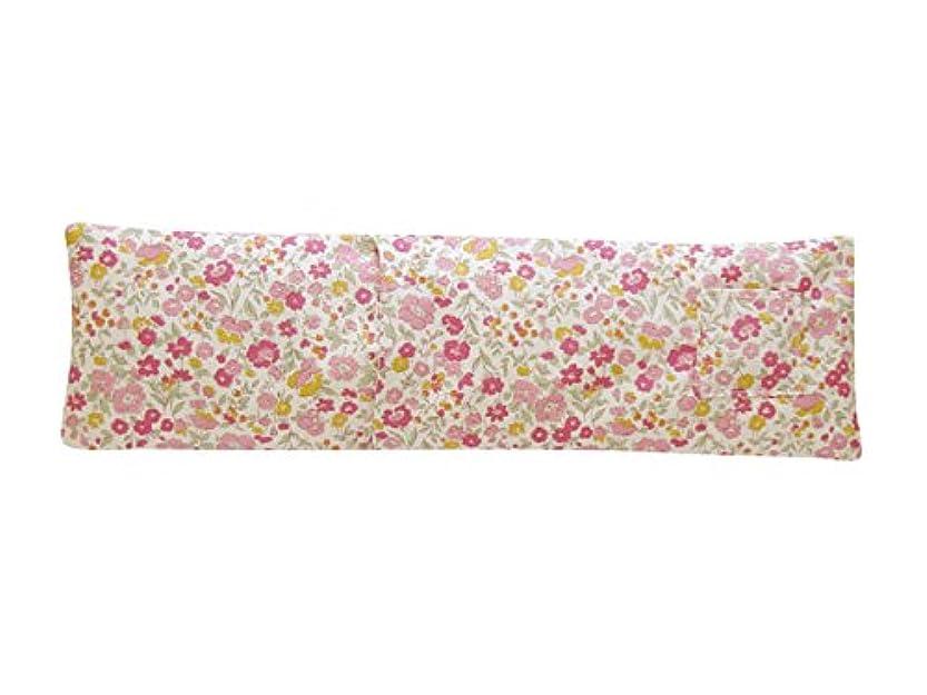 浴室トチの実の木ライブホット&アイスショルダーピロー ローズの香り(中花柄) JA-04ROCHU
