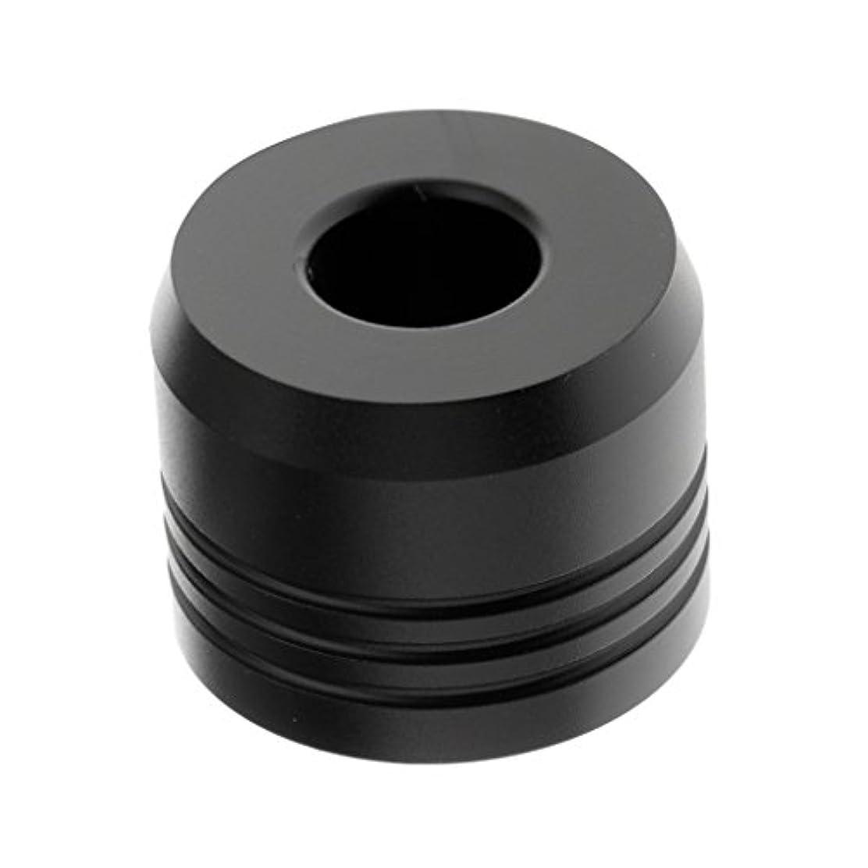 野心誰製油所Baosity カミソリスタンド スタンド シェービング カミソリホルダー ベース サポート 調節可 乾燥 高品質 2色選べ   - ブラック