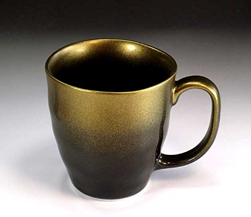 有田焼の陶芸家が丹精込めて造った高級マグカップ・天目金彩|伝統工芸品
