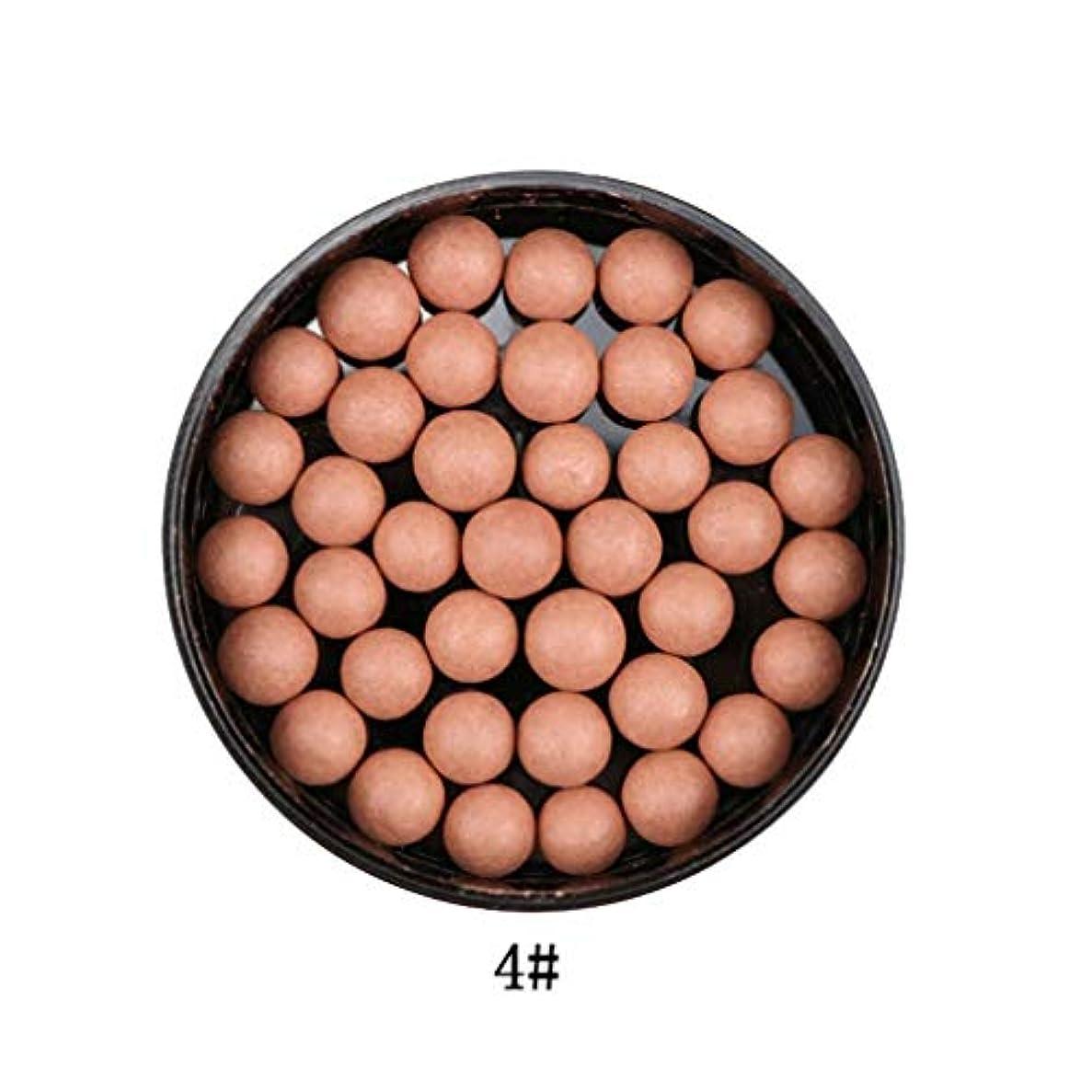 3では1ポータブルブラッシュロングラスティング顔料マットナチュラルフェイスブラッシュボールオイルコントロール輪郭ブラッシュブロンザー