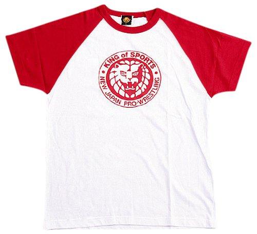 新日本プロレス キング・オブ・スポーツ クラシック Tシャツ (赤) kids-L