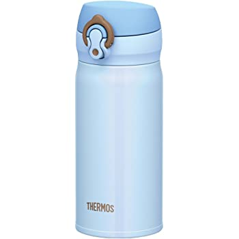 サーモス 水筒 真空断熱ケータイマグ 【ワンタッチオープンタイプ】 0.35L サックスブルー JNL-350 SAX