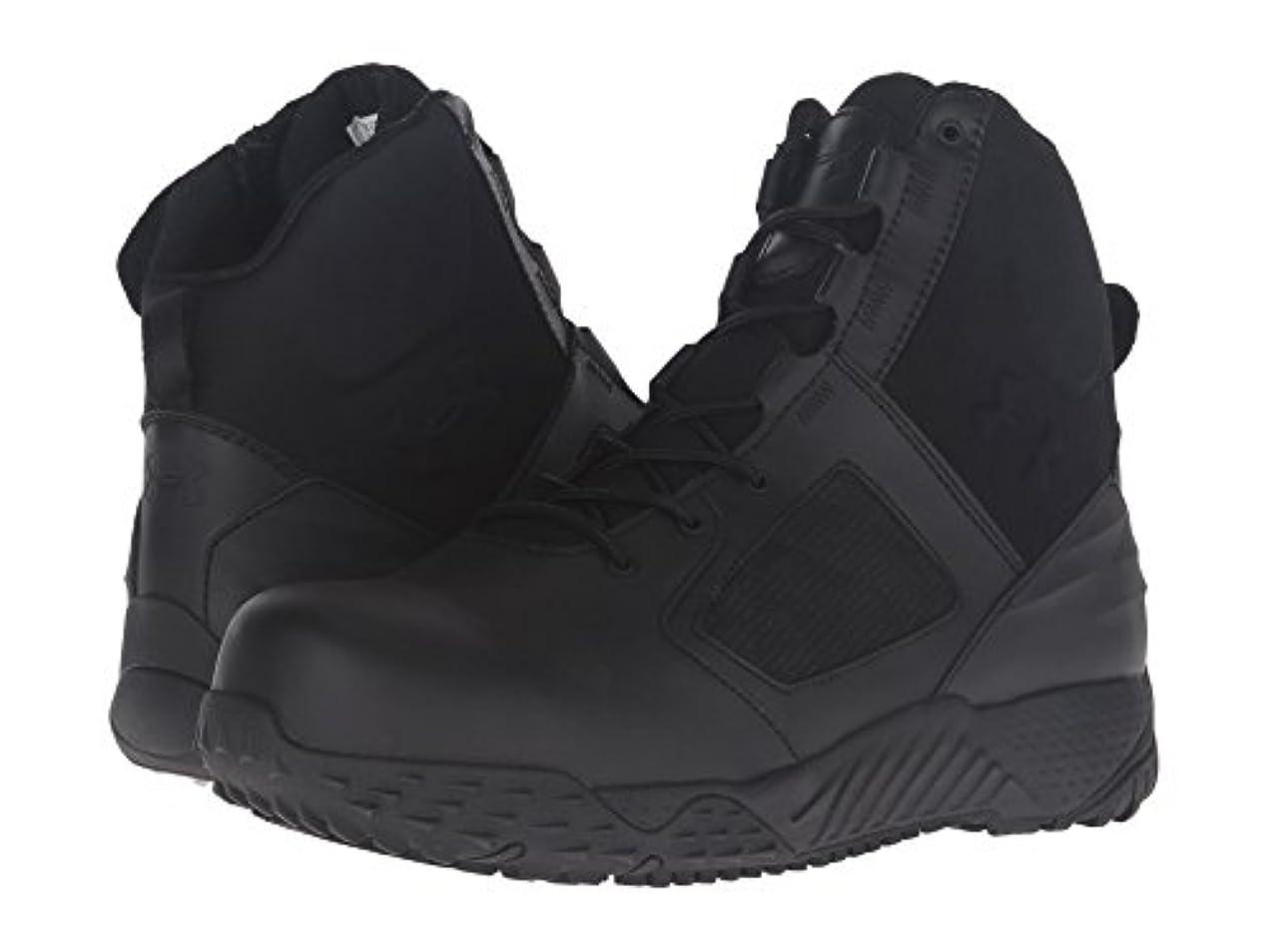 敬な瞳誇りに思う(アンダーアーマー) UNDER ARMOUR メンズブーツ?靴 UA Tac Zip 2.0 Protect Black/Black 12 (30cm) D - Medium