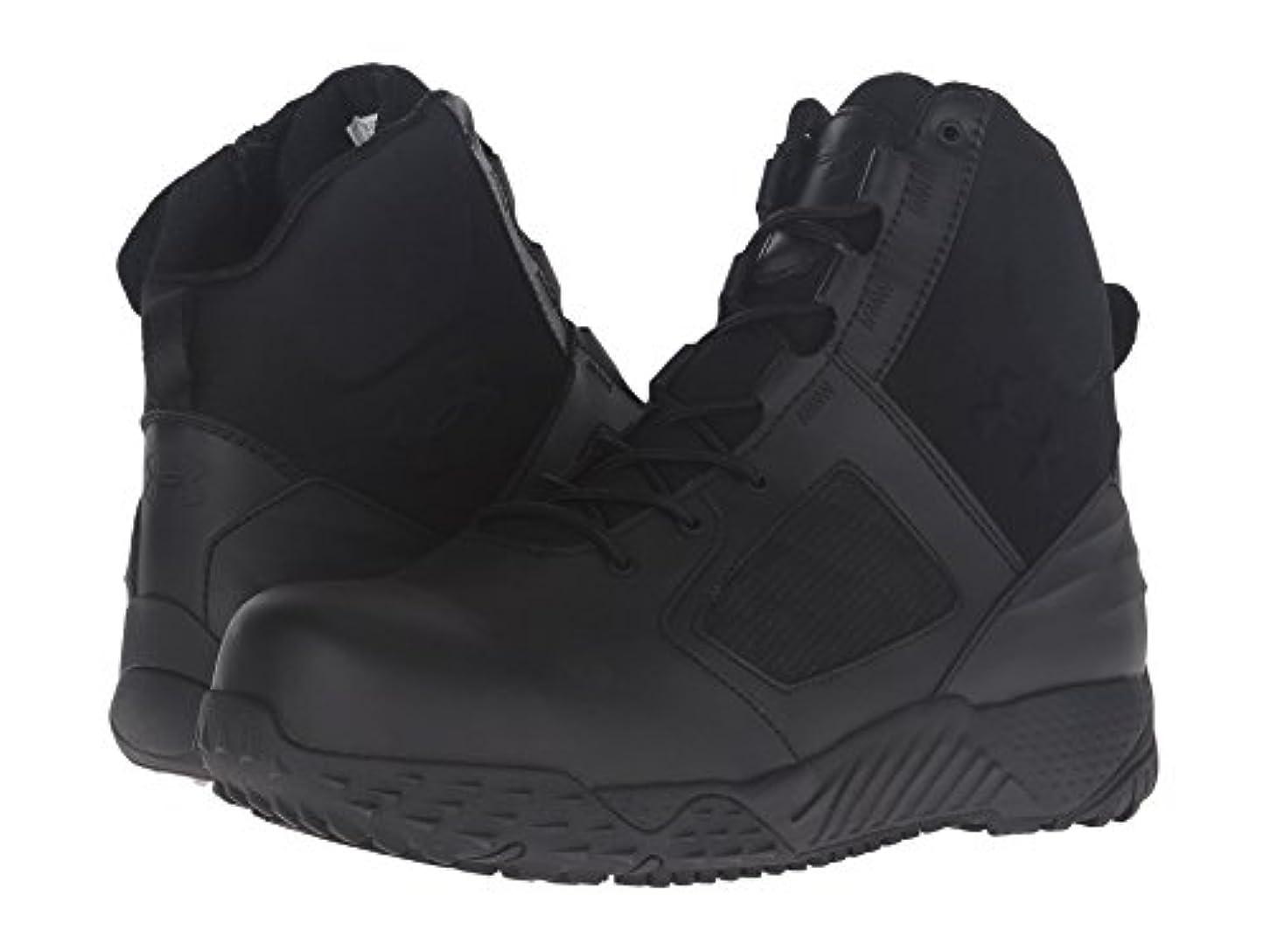 祝福緯度第(アンダーアーマー) UNDER ARMOUR メンズブーツ?靴 UA Tac Zip 2.0 Protect Black/Black 12.5 (30.5cm) D - Medium