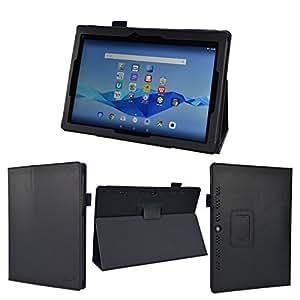wisers NEC LAVIE Tab E TE510/BAL (PC-TE510BAL) ビジネス向けモデル THY-A0SD17029 (K-OPT仕様) THY-BOSD17027 10.1インチ タブレット 専用 ケース カバー [2015 年 新型] ダークブルー