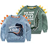 Orangemom Kid Sweatshirts Boy Long Sleeve Cotton Spring Children Pullover Tops Crewnecks for Boys Outfits 2-8T