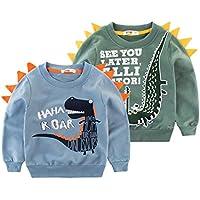 Orangemom Kid Sweatshirts Boy Long Sleeve Cotton Spring Children Pullover Tops Crewnecks for Boys Outfits 2-8T