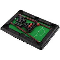homylごっこMiniビリヤードテーブルキットプールデスクトップスポーツPreschoolボールゲームキッズ子供大人用ホーム表示モデル
