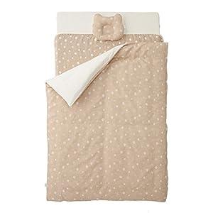 カトージ ベビーベッドにぴったり収まる オーガニックコットンのお布団(ピュアベージュ) 05487