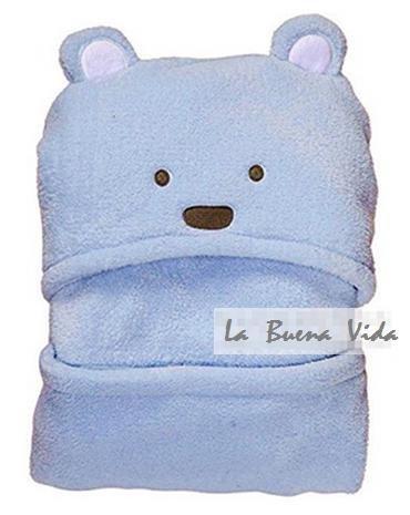 赤ちゃん パイル フカフカ クマさん おくるみ
