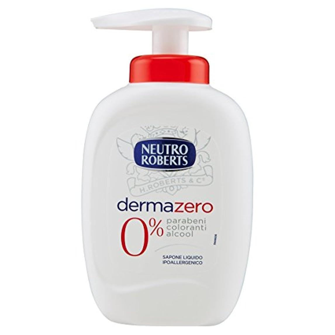 一回承認リスクNeutroroberts dermazero liquid soap