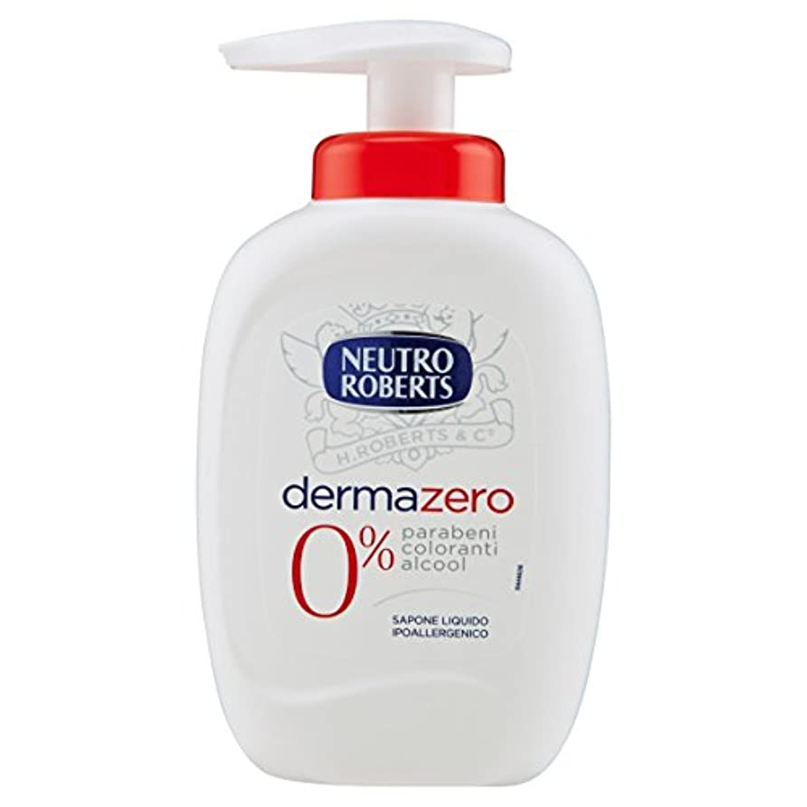 自殺障害協力的Neutroroberts dermazero liquid soap