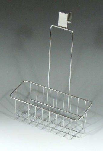 RoomClip商品情報 - 18-8ステンレス スマートハング フリーバスケット 1段 ( シンク扉に引っ掛けるだけ ) 日本製