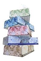 Silky Soft T1302P36 2-Ply Facial Tissues Flat box,White?(Case of 36 Boxes,130 sheets per Box) [並行輸入品]