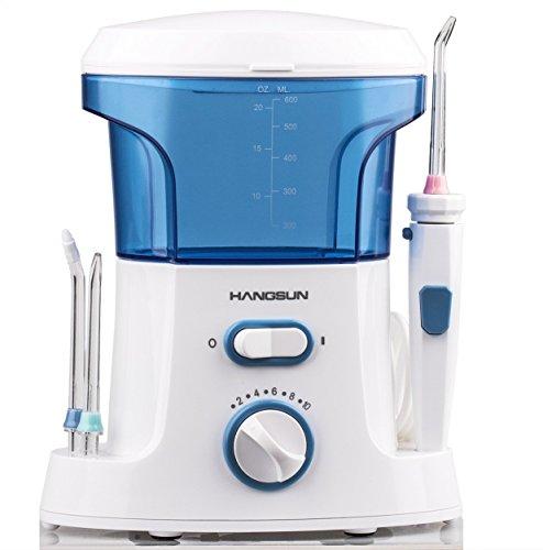 ハングサン 口腔洗浄器 ジェットウォッシャー家庭用 HOC200 クラス最大水圧758Kpa 口臭防止 舌クリーナー付属