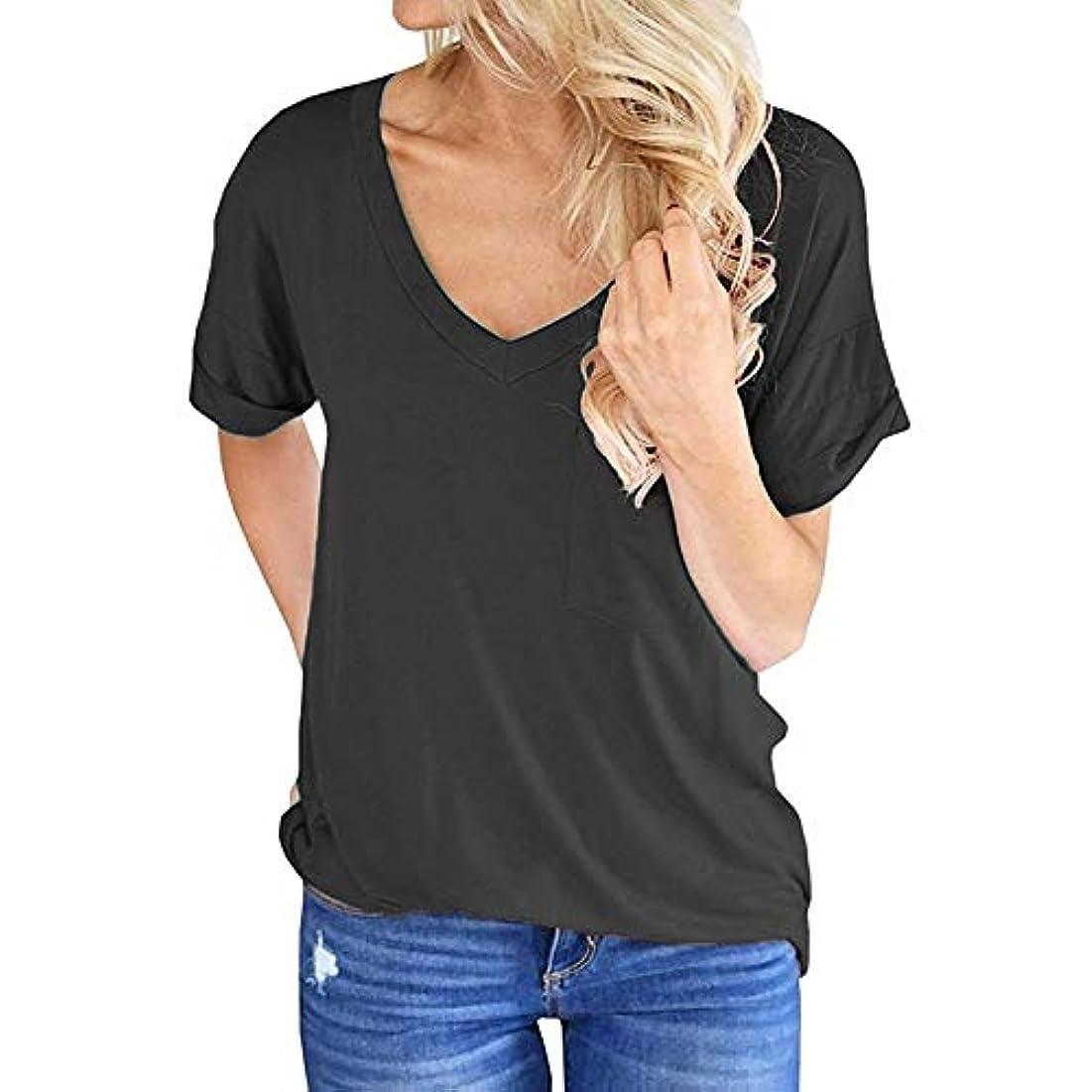 キノコバウンド数学者MIFANポケットシャツ、半袖、コットンTシャツ、夏用トップス、ゆったりしたTシャツ、女性のブラウス、半袖Tシャツ