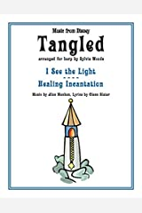 TANGLED - MUSIC FROM THE DISNEY MOTION PICTURE ARRANGED FOR HARP Paperback