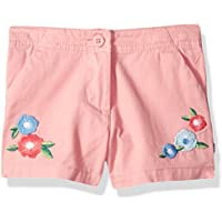 Nautica Girls' Printed Chambray Short